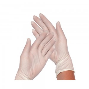 Latex powder free gloves S...