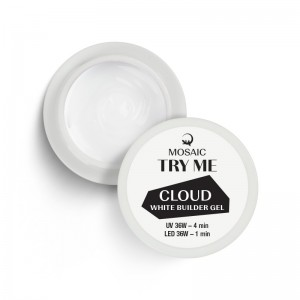 Cloud hvid builder gel