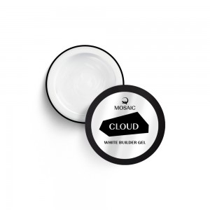 Cloud hvid builder gel 15 ml